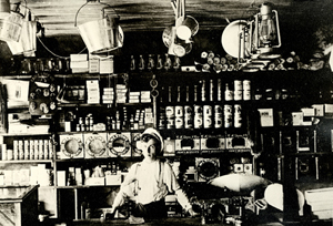 1908 Barkway Store Percy Nichols