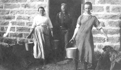 1920's Speichers carrying in the milk
