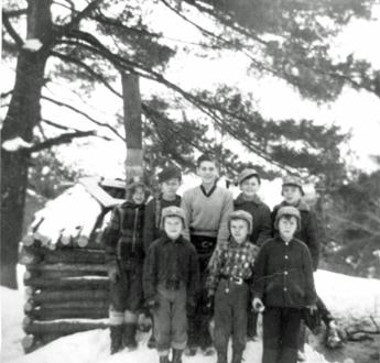 1957 Housey's Rapids Boys