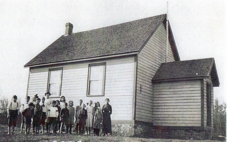 Buck Lake School around 1910