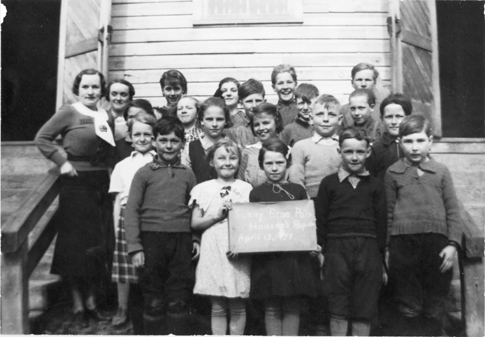 Housey's Rapids School 1938