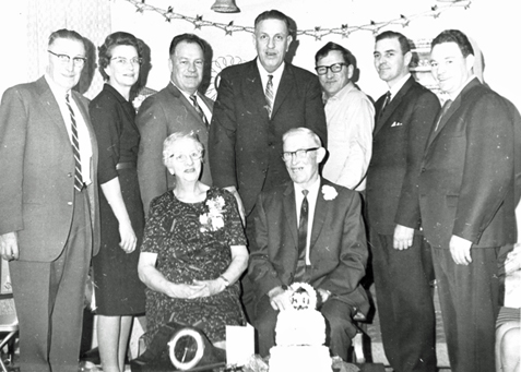 Harold and Pearl Taverner Family