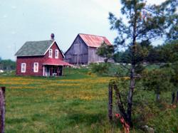Lesley Ruttan house Housey's Rapids Rd