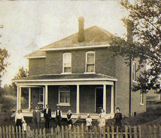 Lowe house The Willows post 1900