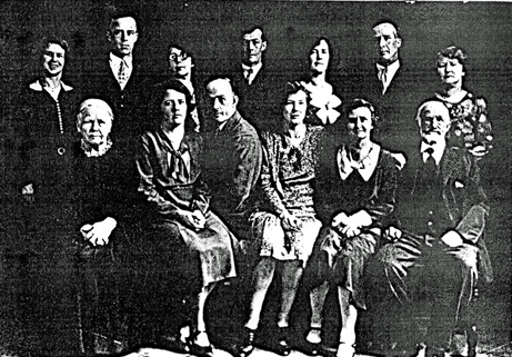 Robt Rusk family 1929