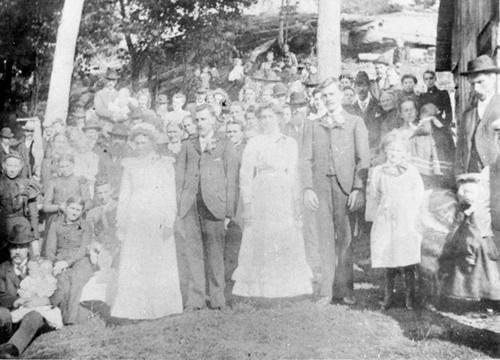 Rudolph Speicher & Louisa Seehaver Sept.18, 1901