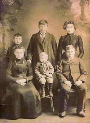 Seehaver Family early 1900s