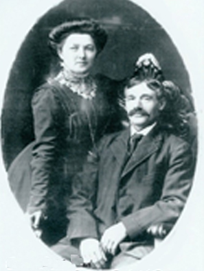 Selina Brooks and William Frederick Hogue