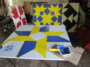 Painting the Quilt Patterns