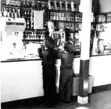 1940s Barkway Store inside