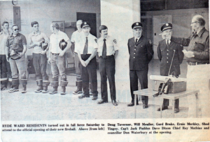 Firehall Grand Opening, Aug 1975