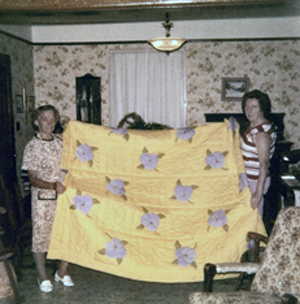 Barkway WI Quilt 1975