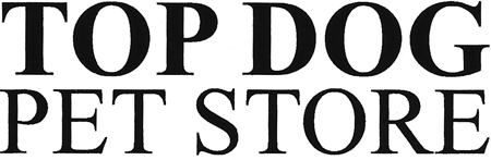 Top Dog Pet Store Logo
